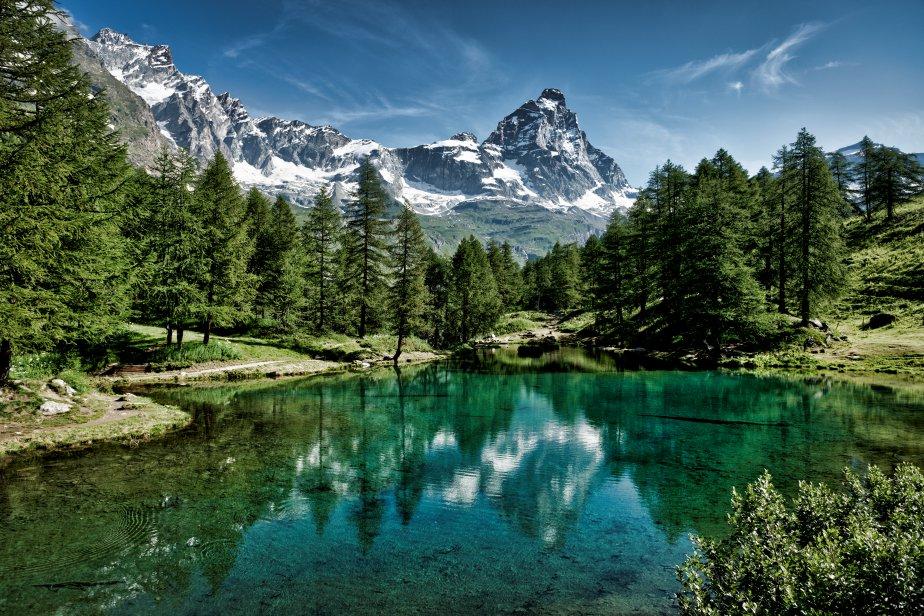 Cartina Fiumi Valle D Aosta.Valle D Aosta Scheda Regione Global Geografia
