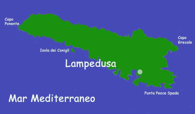 Lampedusa Sulla Cartina Geografica.Isole Misteriose Lampedusa Global Geografia